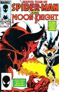 Cover Thumbnail for Marvel Team-Up (Marvel, 1972 series) #144 [Direct Edition]