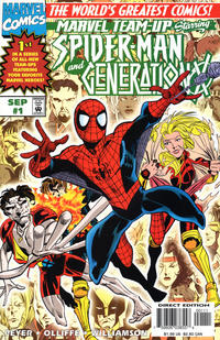 Cover Thumbnail for Marvel Team-Up (Marvel, 1997 series) #1 [Direct]