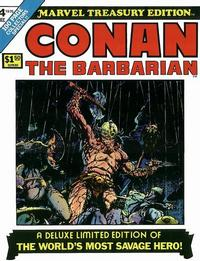 Cover Thumbnail for Marvel Treasury Edition (Marvel, 1974 series) #4 [Regular Edition]