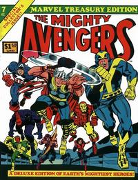 Cover Thumbnail for Marvel Treasury Edition (Marvel, 1974 series) #7 [Regular Edition]