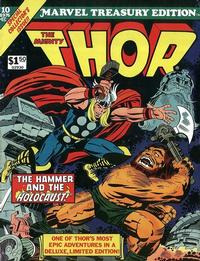 Cover Thumbnail for Marvel Treasury Edition (Marvel, 1974 series) #10 [Regular Edition]