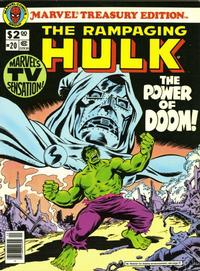Cover Thumbnail for Marvel Treasury Edition (Marvel, 1974 series) #20