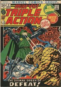 Cover Thumbnail for Marvel Triple Action (Marvel, 1972 series) #2