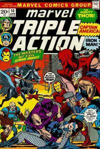 Cover Thumbnail for Marvel Triple Action (Marvel, 1972 series) #10