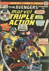 Cover Thumbnail for Marvel Triple Action (Marvel, 1972 series) #23