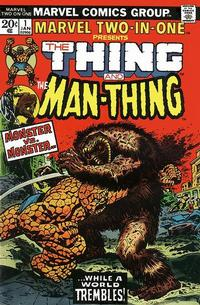 Cover Thumbnail for Marvel Two-In-One (Marvel, 1974 series) #1