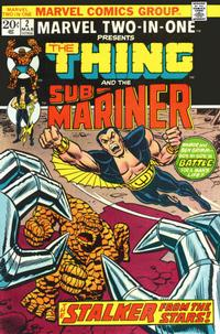 Cover Thumbnail for Marvel Two-In-One (Marvel, 1974 series) #2