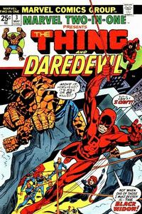 Cover Thumbnail for Marvel Two-In-One (Marvel, 1974 series) #3