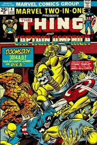 Cover Thumbnail for Marvel Two-In-One (Marvel, 1974 series) #4
