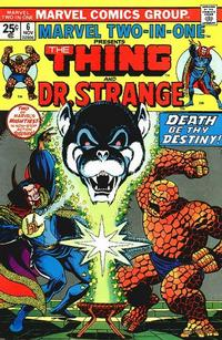 Cover Thumbnail for Marvel Two-In-One (Marvel, 1974 series) #6