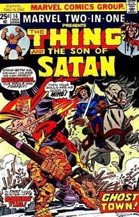Cover Thumbnail for Marvel Two-in-One (Marvel, 1974 series) #14 [Regular]