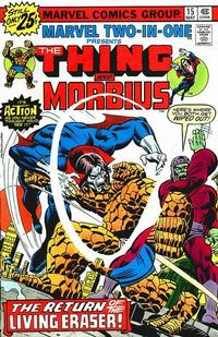 Cover Thumbnail for Marvel Two-in-One (Marvel, 1974 series) #15 [25¢]