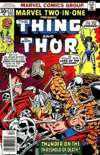 Cover Thumbnail for Marvel Two-In-One (Marvel, 1974 series) #22
