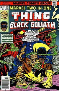 Cover Thumbnail for Marvel Two-in-One (Marvel, 1974 series) #24 [Regular]