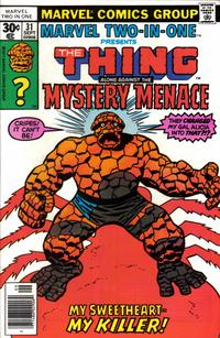 Cover Thumbnail for Marvel Two-In-One (Marvel, 1974 series) #31 [Newsstand]