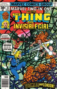 Cover Thumbnail for Marvel Two-in-One (Marvel, 1974 series) #32 [30¢]