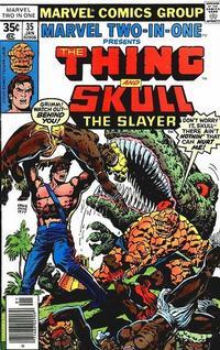 Cover Thumbnail for Marvel Two-in-One (Marvel, 1974 series) #35 [Regular]
