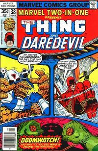Cover Thumbnail for Marvel Two-In-One (Marvel, 1974 series) #38 [Regular Edition]