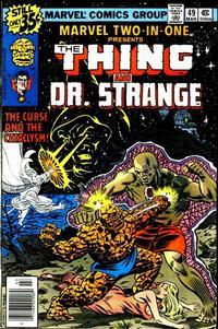 Cover Thumbnail for Marvel Two-in-One (Marvel, 1974 series) #49 [Regular]