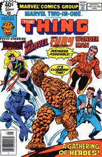 Cover Thumbnail for Marvel Two-In-One (Marvel, 1974 series) #51
