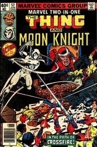 Cover Thumbnail for Marvel Two-In-One (Marvel, 1974 series) #52 [Direct Edition]