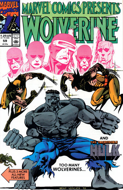 Cover for Marvel Comics Presents (Marvel, 1988 series) #59
