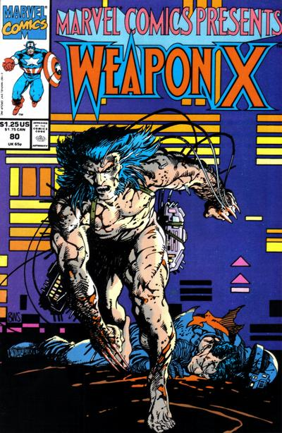 Cover for Marvel Comics Presents (Marvel, 1988 series) #80