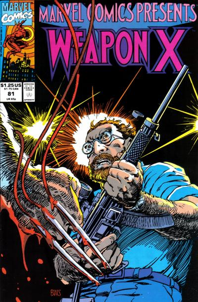 Cover for Marvel Comics Presents (Marvel, 1988 series) #81