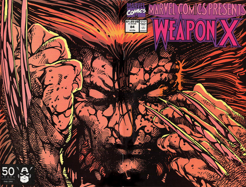 Cover for Marvel Comics Presents (Marvel, 1988 series) #84