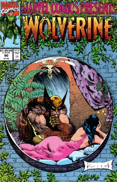 Cover for Marvel Comics Presents (Marvel, 1988 series) #90 [Direct]