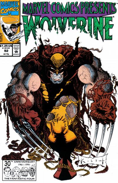 Cover for Marvel Comics Presents (Marvel, 1988 series) #92