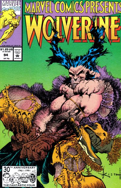 Cover for Marvel Comics Presents (Marvel, 1988 series) #94 [Direct]