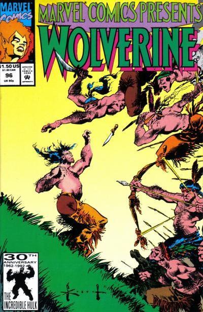 Cover for Marvel Comics Presents (Marvel, 1988 series) #96