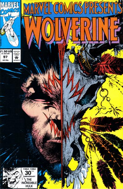 Cover for Marvel Comics Presents (Marvel, 1988 series) #97 [Direct]