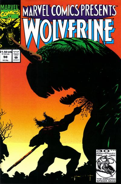 Cover for Marvel Comics Presents (Marvel, 1988 series) #98 [Newsstand]