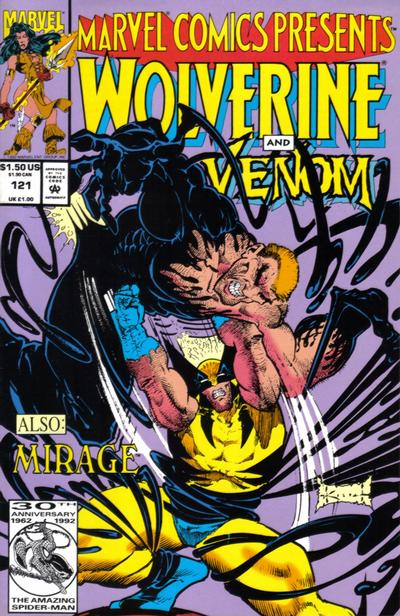 Cover for Marvel Comics Presents (Marvel, 1988 series) #121