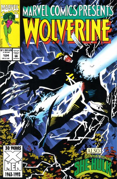 Cover for Marvel Comics Presents (Marvel, 1988 series) #124