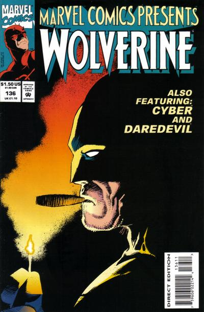 Cover for Marvel Comics Presents (Marvel, 1988 series) #136 [Direct]