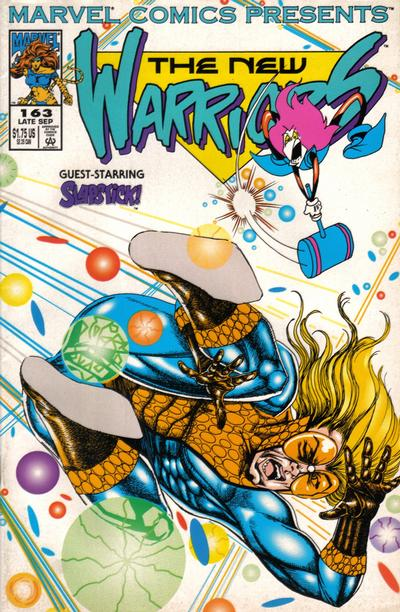 Cover for Marvel Comics Presents (Marvel, 1988 series) #163