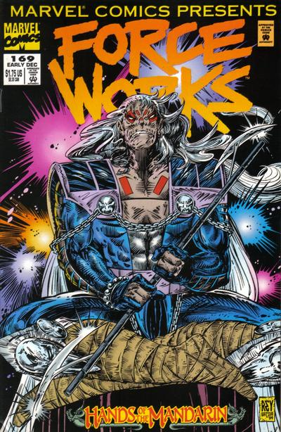 Cover for Marvel Comics Presents (Marvel, 1988 series) #169