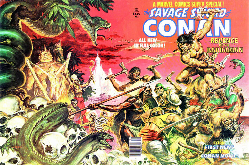 Cover for Marvel Comics Super Special (Marvel, 1977 series) #2