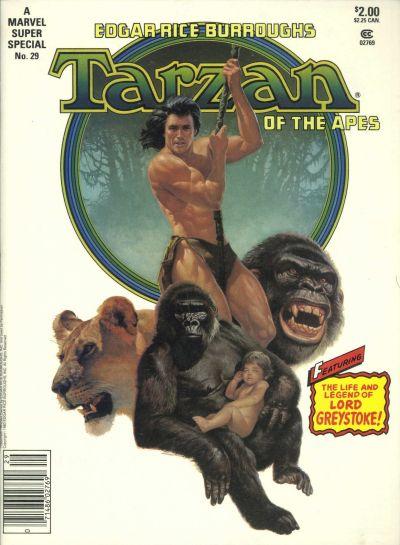 Cover for Marvel Super Special (Marvel, 1978 series) #29