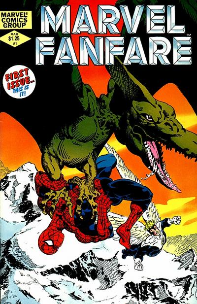 Cover for Marvel Fanfare (Marvel, 1982 series) #1