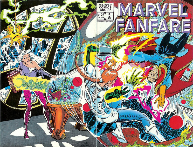 Cover for Marvel Fanfare (Marvel, 1982 series) #5
