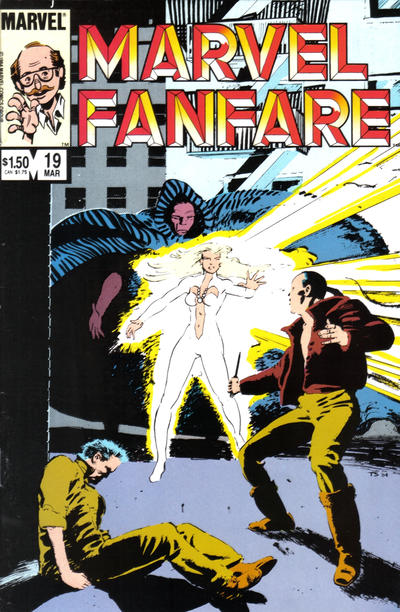 Cover for Marvel Fanfare (Marvel, 1982 series) #19