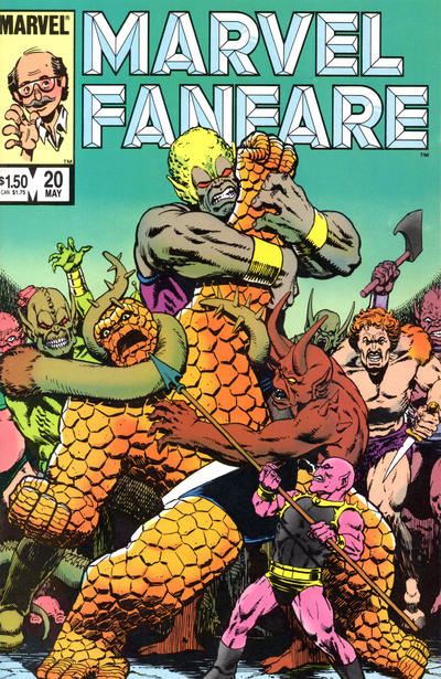 Cover for Marvel Fanfare (Marvel, 1982 series) #20