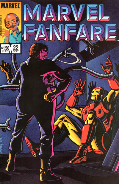 Cover for Marvel Fanfare (Marvel, 1982 series) #22