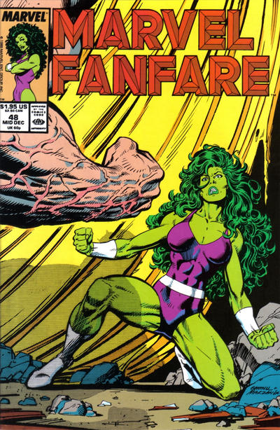 Cover for Marvel Fanfare (Marvel, 1982 series) #48
