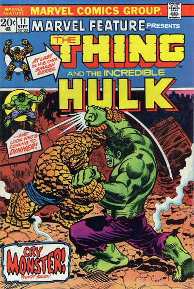 Cover for Marvel Feature (Marvel, 1971 series) #11
