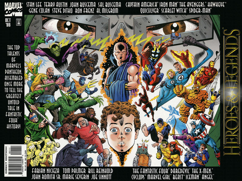 Cover for Marvel: Heroes & Legends (Marvel, 1996 series) #1
